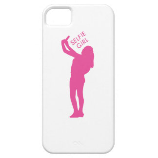Selfie Girl Graphic Case For The iPhone 5