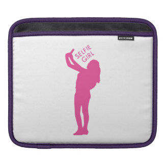 Selfie Girl Graphic iPad Sleeve