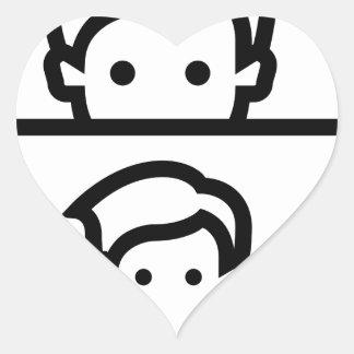 Selfie Heart Sticker