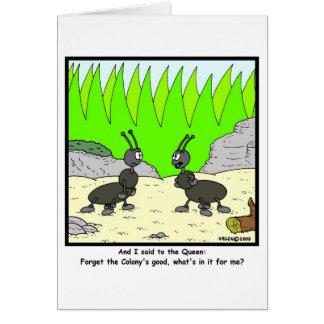 Selfish Card