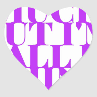 Selfish Sobriety Detox Drunk Fellowship Heart Sticker