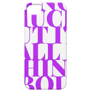 Selfish Sobriety Detox Drunk Fellowship iPhone 5 Cases