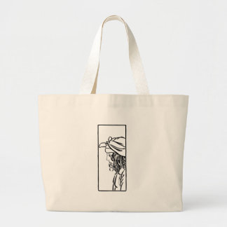 Selim, child of Damascus Large Tote Bag