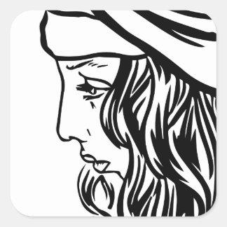 Selim, child of Damascus Square Sticker