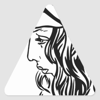 Selim, child of Damascus Triangle Sticker