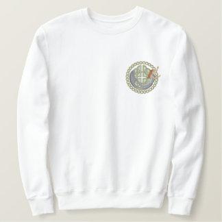 Selkie Circle Embroidered Sweatshirt