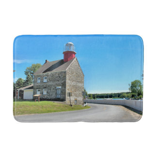 Selkirk Lighthouse, New York Bath Mat