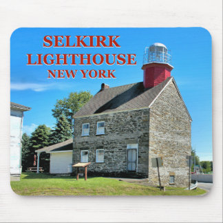 Selkirk Lighthouse, New York Mousepad