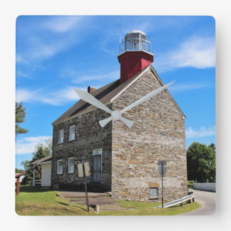Selkirk Lighthouse, New York Wall Clock