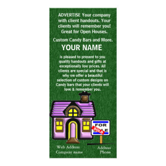 SELL TO Real Estate Business Brochure Rack Cards