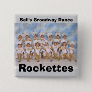 Sell's Broadway Dance Rockettes 15 Cm Square Badge