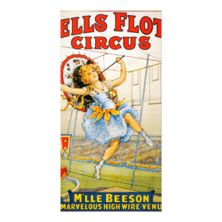 Sells Floto Circus Customized Photo Card