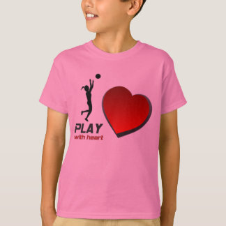 "SELMA YELLOWJACKETS ""PLAY WITH HEART"" BBALL TSHIRT"