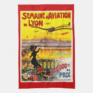 Semaine d'Aviation de Lyon Kitchen Towels