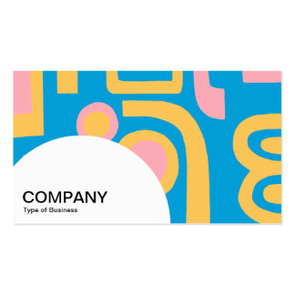 Semi-circle Panel - Abstract 170914 Pack Of Standard Business Cards