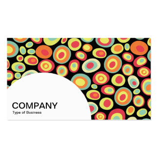 Semi-circle Panel - Abstract 220213 Business Card Template
