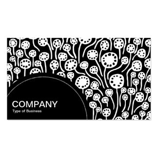 Semi-circle Panel (dots) - Abstract 090512 01 Business Card Template
