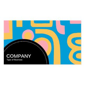 Semi-circle Panel (dots) - Abstract 170914 Business Cards