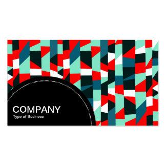 Semi-circle Panel (dots) - Abstract 191513 Business Card