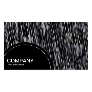Semi-circle Panel (dots) - Abstract Cliff 02 Business Card Templates