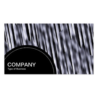 Semi-circle Panel (dots) - Abstract Cliff Business Card Templates