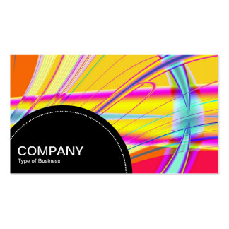 Semi-circle Panel (dots) - Fractal Abstract 04 Pack Of Standard Business Cards