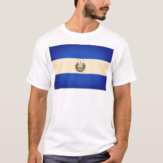 Semi Polarized El Salvador Flag T-Shirt