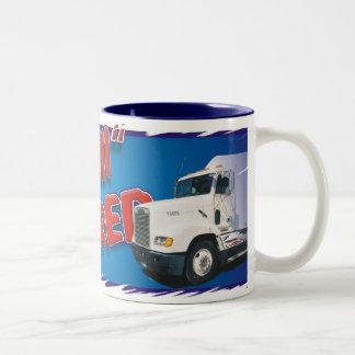 semi retired Two-Tone coffee mug
