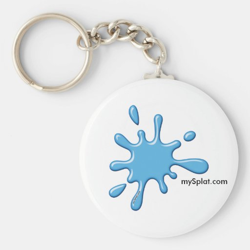 Semi Speedball Paintball - mySplat.com Keychains