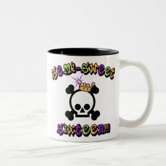 Semi Sweet Sixteen Two-Tone Mug