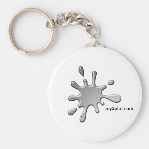 Semi Tournament Paintball - mySplat.com Key Chains