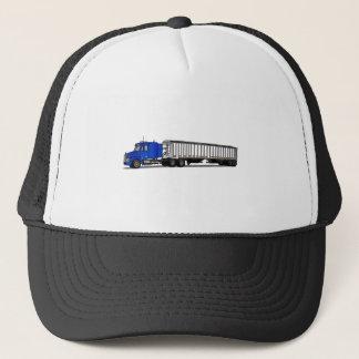 Semi Tractor Trailer Trucker Hat