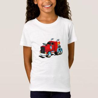 Semi Truck Tshirt for Girls