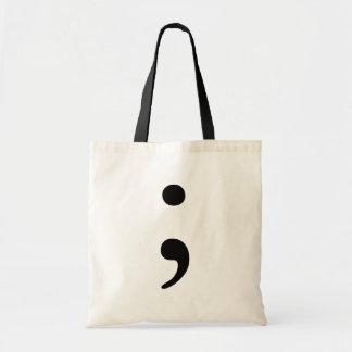 Semicolon Budget Tote Bag