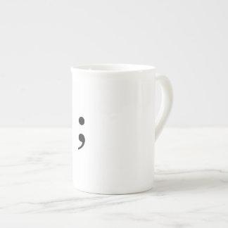 Semicolon Coffee Cup