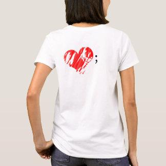 Semicolon for Mental Health T-Shirt
