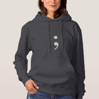 Semicolon Hoodie