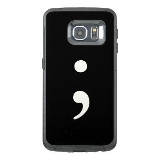 Semicolon OtterBox Samsung Galaxy S6 Edge Case