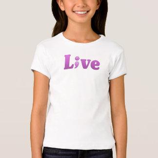 Semicolon Suicide/Depression Live Tee Purple