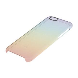 Semitransparent cover iphone 6 gradient rainbow