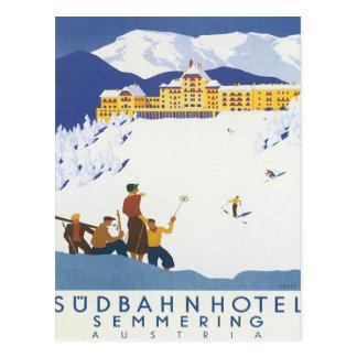 Semmering Austria Postcard