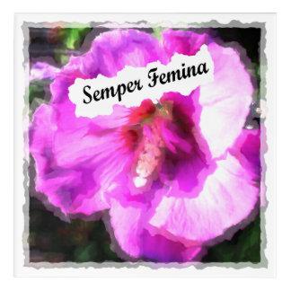 Semper Femina Acrylic Print