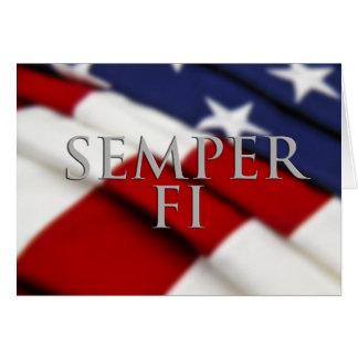 Semper FI Card