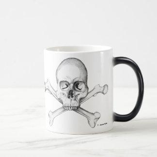 Semper Fi - Skull & Crossbones Magic Mug
