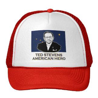 Senator Ted Stevens T-shirt American Hero Mesh Hats