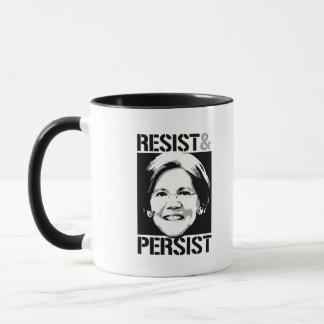 Senator Warren - Resist and Persist --  Mug