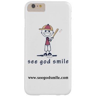 Send A Positive Message -> See God Smile (TM) Barely There iPhone 6 Plus Case