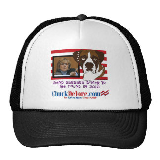 Send Barbara Boxer To The Pound In 2010 Mesh Hats