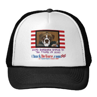 Send Barbara Boxer To The Pound In 2010 Hat