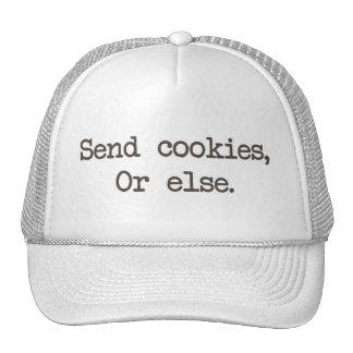 Send Cookies or Else Mesh Hats